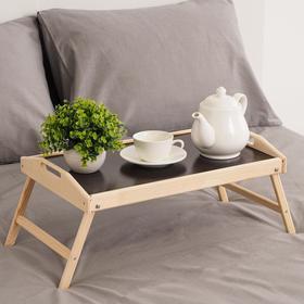 Столик для завтрака складной, 50×30см, с ручками Ош