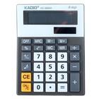 Калькулятор настольный, 8-разрядный, двойное питание, с мелодией, МИКС