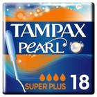 Тампоны «Tampax» Discreet Pearl, с аппликатором - Super Plus Duo, 18 шт