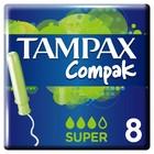 Тампоны «Tampax» Compak Super Single, с аппликатором, 8 шт
