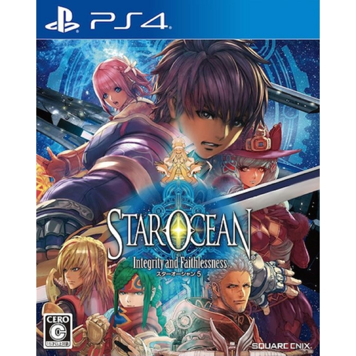 Игра для Sony PlayStation 4 Star Ocean V. Стандартное издание.