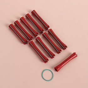 Бигуди-коклюшки, d = 1,1 см, 10 шт, цвет МИКС
