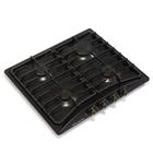 Варочная поверхность Electronicsdeluxe 5840.00 гмв-007 ЧР, газовая, черная