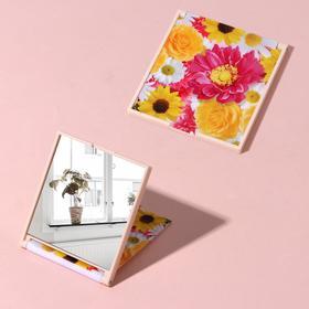 Зеркало складное «Цветы»