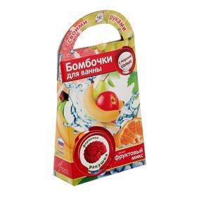 """Делаем бомбочки для ванн """"Ракушка"""", аромат фруктов"""