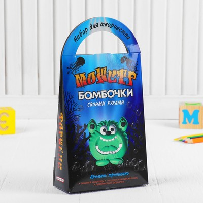 "Бомбочки для ванны своими руками ""Монстр Форнеус"" - Фото 1"