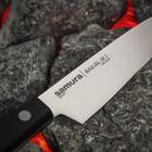 Нож Samura HARAKIRI овощной, лезвие 10 см, чёрная рукоять, сталь AUS-8 - Фото 2