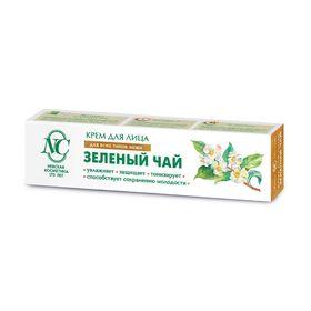 Крем для лица «Невская косметика», зелёный чай, увлажнение, защита, тонус, 40 мл