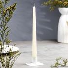 Свеча античная, 2,3х 24,5 см, слоновая кость