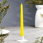 Свеча античная, 2,3х 24,5 см, жёлтая