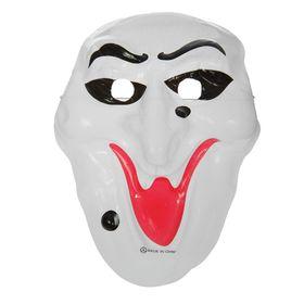 Карнавальная маска 'Крик' с бородавкой на резинке Ош