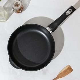 Сковорода ГОРНИЦА «Классик», d=24 см , h=6 см, стеклянная крышка