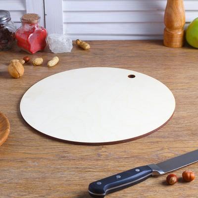 Доска разделочная фанера Д=300 круг - Фото 1