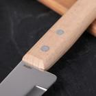 Нож кухонный поварской «Универсал», лезвие 12,8 см, с деревянной ручкой - Фото 3