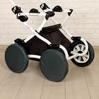 Чехлы на колёса детской коляски, набор 4 шт., полиэстер, цвета МИКС