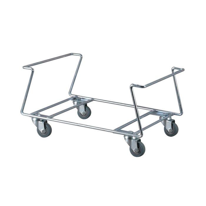 Подставка под корзины, с поворотными колесами