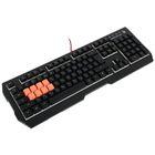 Клавиатура A4Tech Bloody B188, игровая, проводная, подсветка, 110 клавиши, USB, чёрная