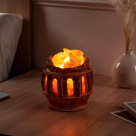 Соляная лампа 'Колизей', керамическое основание, 16 см, 1-2 кг Ош