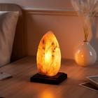 """Соляная лампа """"Лист"""" 10 см × 12 см × 22 см, 1-2 кг"""
