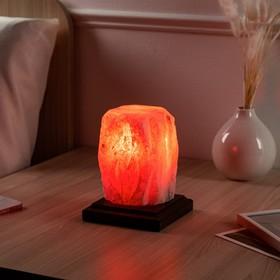 Соляная лампа 'Пламя', 15 см, 2-3 кг Ош