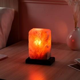 Соляная лампа 'Рассвет', цельный кристалл, 20 см, 1-2 кг Ош