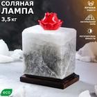 "Соляная лампа ""Аромат любви"" 16 см × 15,5 см × 17 см, 3-4 кг"