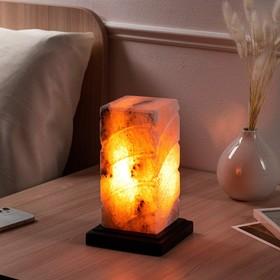 Соляная лампа 'Элегант', цельный кристалл, 19,5 см Ош