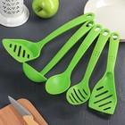 Набор кухонных принадлежностей «Точки», 5 предметов, цвета МИКС