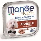 Влажный корм Monge Dog Fresh для собак, ягненок, 100 г