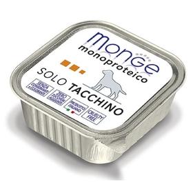 Влажный корм Monge Dog Monoproteico Solo для собак, паштет, из индейки, ламистер, 150 г