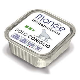 Влажный корм Monge Dog Monoproteico Solo для собак, паштет из курицы, ламистер, 150 г