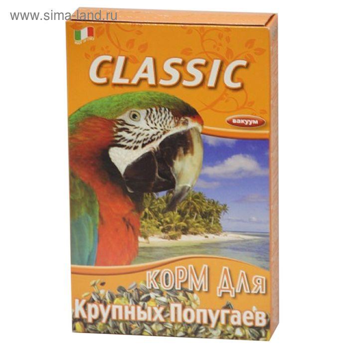 Корм FIORY Classic для крупных попугаев, 600 г.