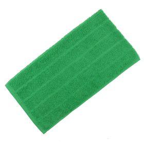Полотенце махровое жаккардовое 30×60 см хлопок 280 г/м2 Зеленый