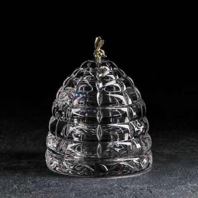 Ёмкость для мёда «Улей с пчёлкой», 200 мл, 11,8 см - Фото 1