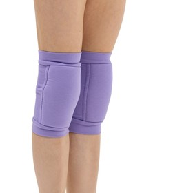 Наколенники для гимнастики и танцев с уплотнителем, размер XS (3-6 лет), цвет сиреневый Ош