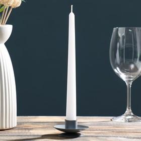 Подсвечник лотос 2Н серый