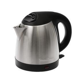 Чайник электрический Moulinex BY 430DRU, металл, 1.5 л, 1500 Вт, серебристый