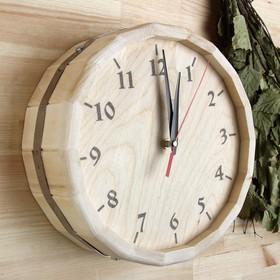 Часы банные бочонок 'Классические' Ош