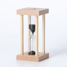 Часы песочные 'Африн' на 1 минуту, 8.5х4.2 см, микс Ош