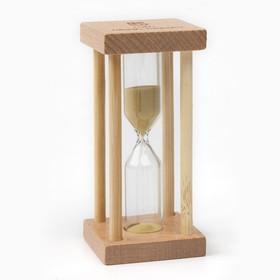 Часы песочные 'Акцент' на 5 минут, 8.5х4.2 см, микс Ош