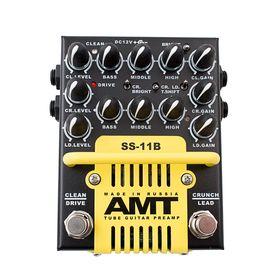 Ламповый гитарный предусилитель с блоком питания AMT Electronics SS-11B Modern