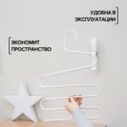 Вешалка для брюк и юбок «Змейка», 33×36 см, цвет МИКС - Фото 2