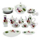 """Набор столовой посуды """"Идиллия. Королева цветов"""", 60 предметов"""