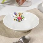 Блюдце «Букет цветов», d=11 см - Фото 2