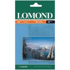 Фотобумага LOMOND 102063 для струйной печати A6, 180 г/м², 50 листов, односторонняя, матовая