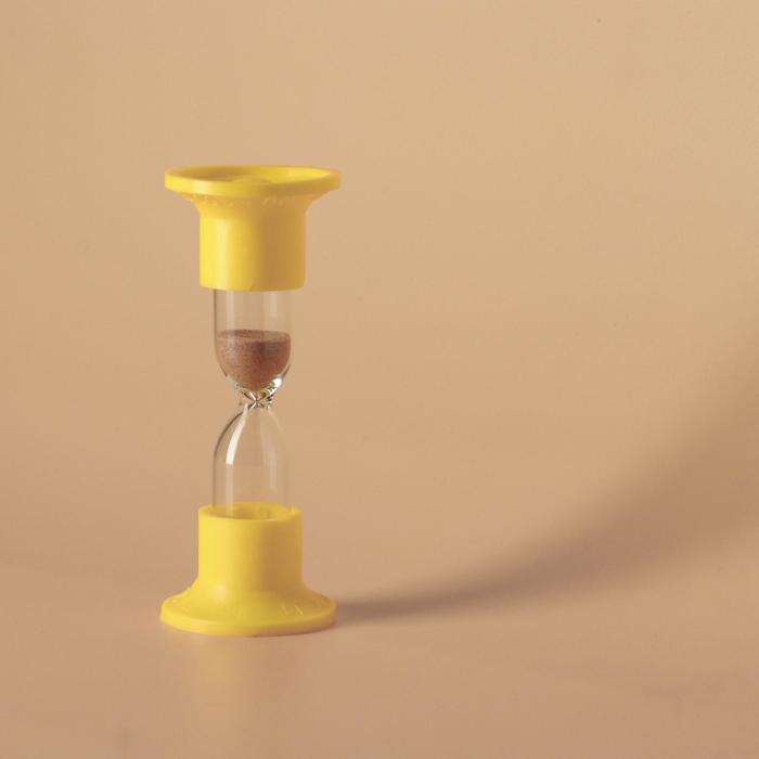 Часы песочные настольные на 3 минуты, упаковка пакет, микс