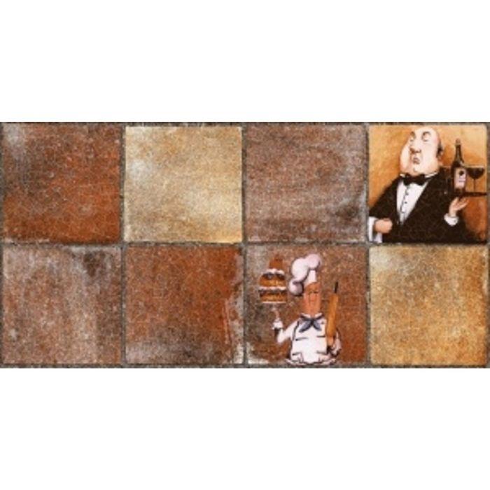 Облицовочная плитка Лофт коричневый Ланч 08-11-15-743 40х20см (в упаковке 1,28 кв.м)