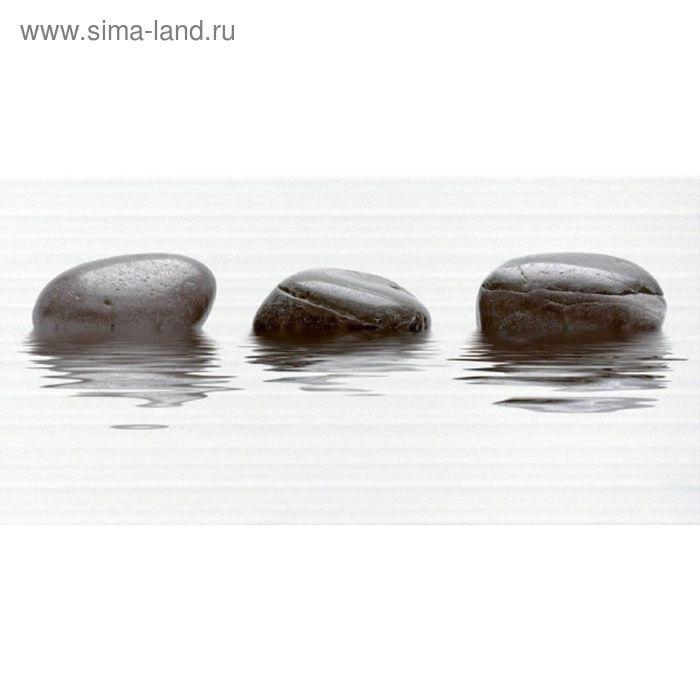 Вставка керамическая 50х25см Фреш черный 10-04-04-330