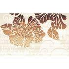 Вставка керамическая 40х25см Кензо коричневый 09-03-15-075-2