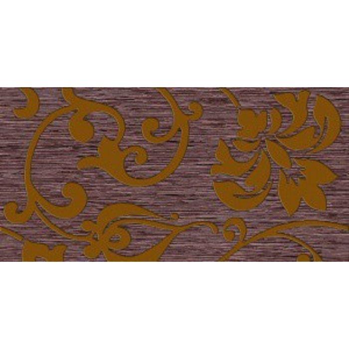 Вставка керамическая 40х20см Ваниль коричневый 08-03-15-720-1